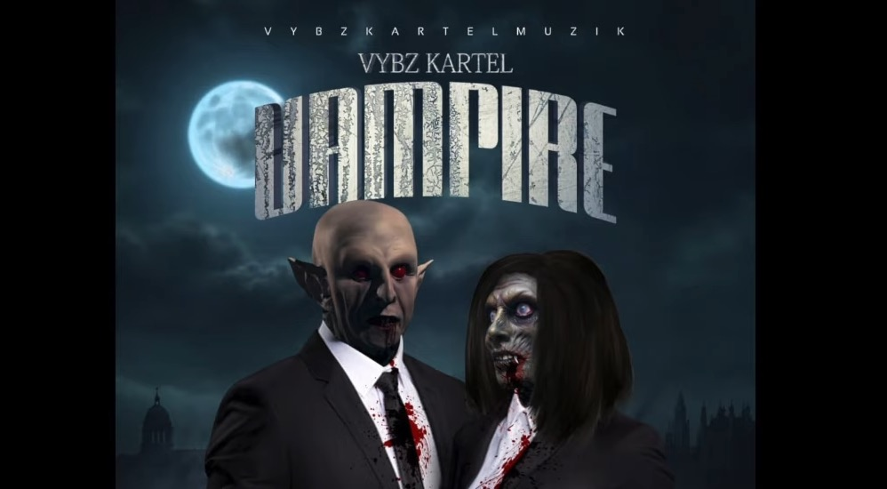 "Photo of Vybz Kartel Attacks the State and the Church in ""Vampire"""