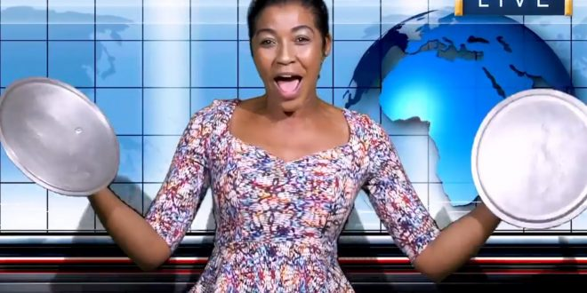 D' Angel goes Viral in Live News Broadcast Video