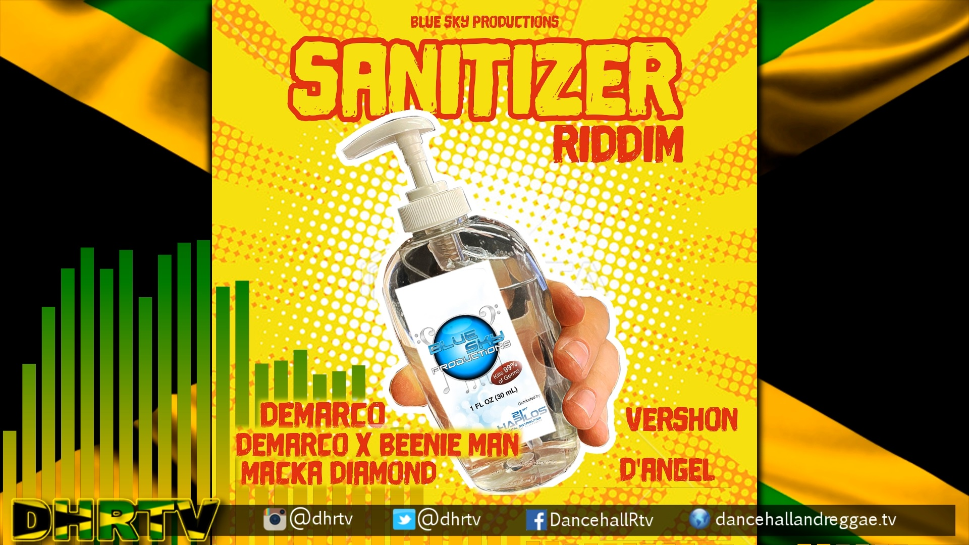 Photo of Sanitizer Riddim Mix [Mixtape]
