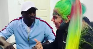 "Tekashi 6ix9ine and Akon in Studio Making ""Locked Up Pt. 2"""