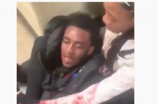 WTF: 3 Girls Beat a Man after he Violated Them [Video]