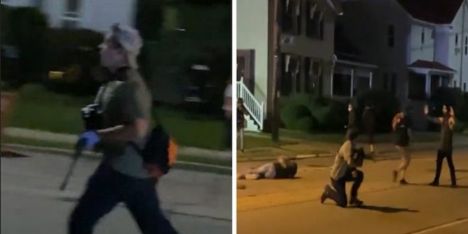 killed USA and protest Man Footage:  shot in people two