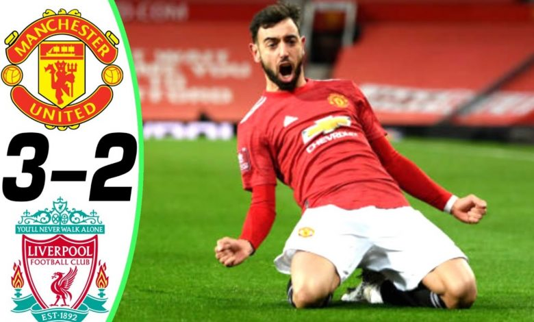Manchester United vs Liverpool 3-2 – Highlights